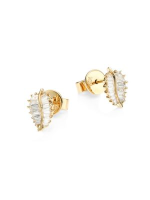 f292f03ea Anita Ko - Diamond & 18K Rose Gold Stud Earrings - saks.com