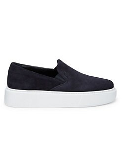 cc91a3cf3 Prada. Suede Skate Sneakers
