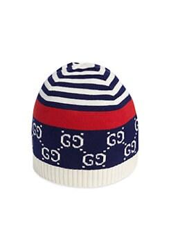 7ae4e889c Gucci. Baby's GG Cotton Hat