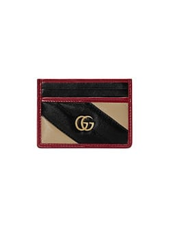1bb2983b2dc Gucci. GG Marmont Leather Card Case