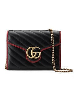 9cec701379a7 Product image. QUICK VIEW. Gucci. GG Marmont Chain Wallet