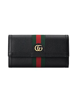 ef3f4990596 Gucci. Ophidia Leather Continental Wallet
