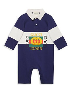 282d95cb Baby Boy's Polo Playsuit INCHIOSTRO BLUE. QUICK VIEW. Product image