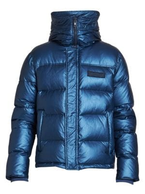Kenzo Down Feather Fill Hooded Puffer