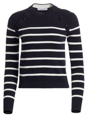 Frame Sweaters Mariner Stripe Sweater