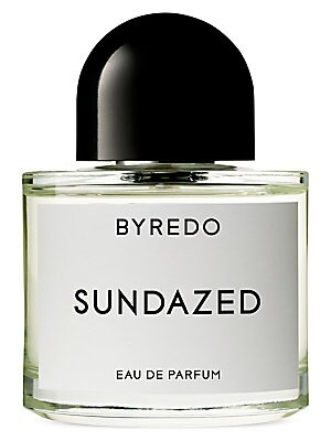 Image of A mythical undoing of body and mind in a mid-summer's daydream. SUNDAZED opens with sunny top notes of mandarin and Californian lemon combined with neroli and Arabian jasmine at heart. Cotton candy and musk inject this citrus scent with the endorphin rush