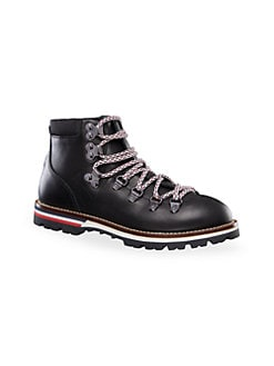 4c70373a2 QUICK VIEW. Moncler. Little Kid's & Kid's Petit Peak Leather Hiking Boots