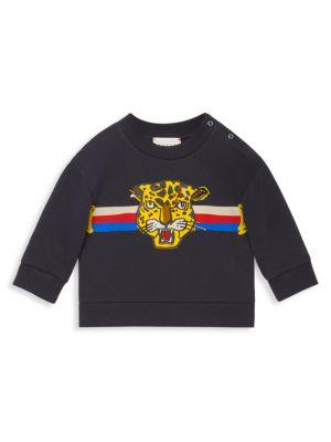 Gucci Baby Boy S Urban Leopard Sweatshirt