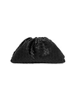 91011c20cf66 Bottega Veneta. Large Leather Clutch