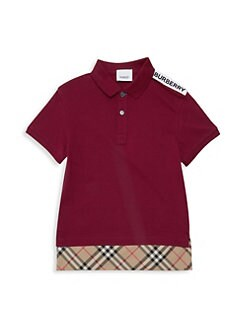 c0add4a3 Burberry. Little Boy's & Boy's KB5 Hammond Polo