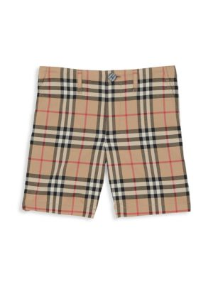 PUMA Little Boys Cotton Shorts