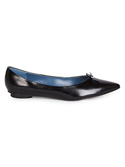 83b805ccd691d QUICK VIEW. Marc Jacobs. The Mouse Leather Point Toe Flats