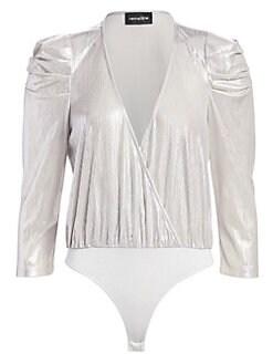 184653bddecf Women's Apparel - Tops - Bodysuits - saks.com