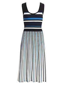 af843ad403b QUICK VIEW. Tanya Taylor. Iolanda Sleeveless Striped Dress