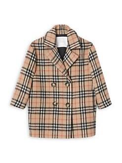 44b2333b362 QUICK VIEW. Burberry. Little Girl s   Girl s Poppy Vintage Check Coat