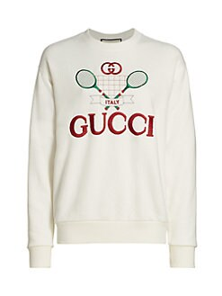 e3713aa66681 Product image. QUICK VIEW. Gucci. Heavy Felted Jersey Gucci Tennis  Sweatshirt