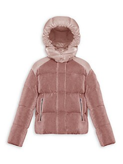 b0bf4bc48eb61c QUICK VIEW. Moncler. Little Girl's & Girl's Chouette Lurex Puffer Jacket