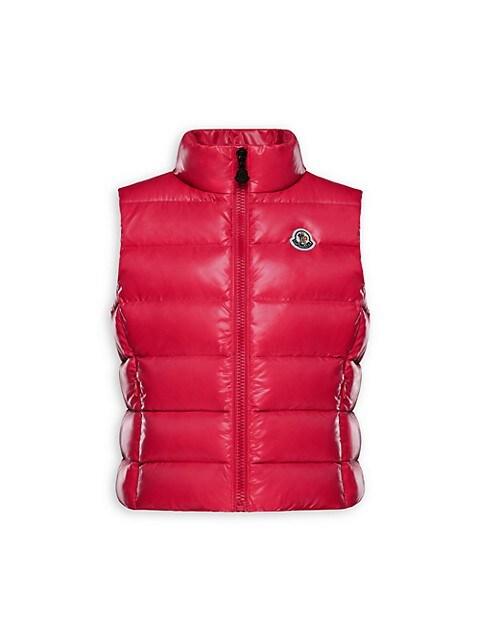 Little Girl's & Girl's Ghany Nylon Puffer Vest
