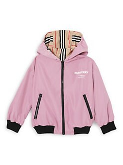 46b75ea5ec38 Product image. QUICK VIEW. Burberry. Little Girl s   Girl s Tommy Icon  Reversible Jacket