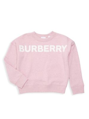 Burberry Little Girl S Girl S Kg5 Mindy Logo Sweatshirt