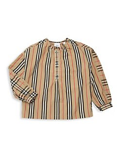 8226dc1ef Burberry. Little Girl's & Girl's KG5 Lola Icon Stripe ...