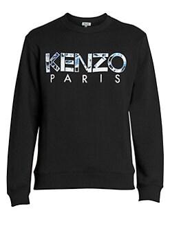 bf6dedffd1 Kenzo. Classic Logo Cotton Sweatshirt
