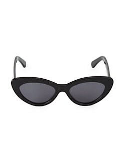 2557fa7544c 53MM Pamela Cat Eye Sunglasses BLACK. QUICK VIEW. Product image