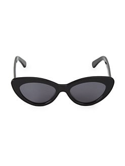 36ecc0a01470 53MM Pamela Cat Eye Sunglasses BLACK. QUICK VIEW. Product image