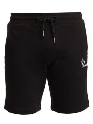 Moncler Shorts Logo Drawstring Shorts