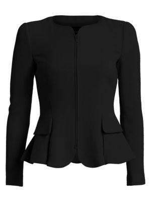 0160fec464 Versace - Safety Pin Cutout Wool Jacket - saks.com