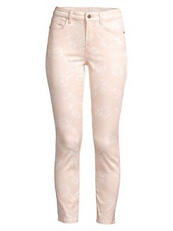 0c53d0cd1f9 Product image. QUICK VIEW. Jen7 by 7 For All Mankind. Printed Ankle Skinny  Cropped Jeans