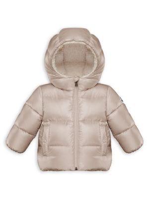 7bb9c46ce Moncler Baby's & Little Girl's Quinson Faux Fur-Lined
