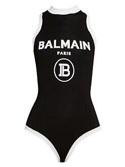 d53d07dd89e QUICK VIEW. Balmain. Sleeveless Logo Bodysuit