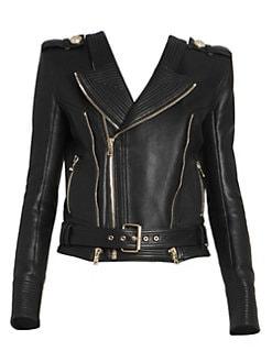 928536f5d4d2f Women's Apparel - Coats & Jackets - Leather & Faux Leather - saks.com