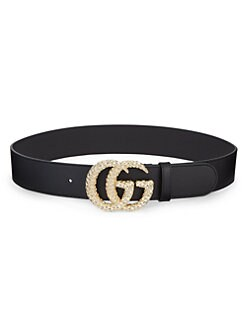e66178bfe QUICK VIEW. Gucci. GG Marmont Leather Belt