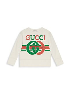 b628af522 QUICK VIEW. Gucci. Little Boy's & Boy's Long-Sleeve Sweatshirt
