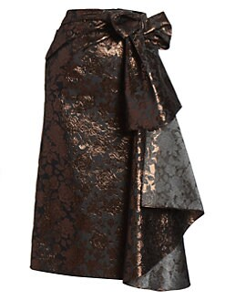 c3ef64e987ec Erdem. Rose Jacquard Bow Skirt