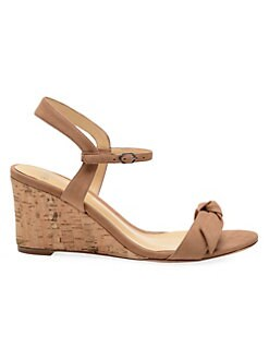629447b37fd2 QUICK VIEW. Alexandre Birman. Noelle Suede Slingback Wedge Sandals