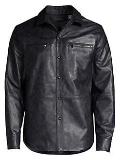 08b219b40 Leather Jackets & Shearling Coats For Men | Saks.com