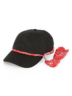 e0b5b8b9 Bandana Cap BLACK RED. QUICK VIEW. Product image