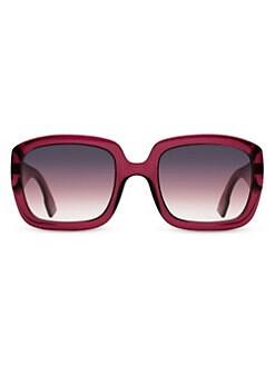 f88665387d802 QUICK VIEW. Dior. DDior 54MM Square Sunglasses