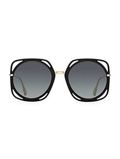 248689dcb43 QUICK VIEW. Dior. 56MM Direction Round Sunglasses