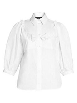73caee6d34887e Women's Collard Shirts & Button Downs | Saks.com