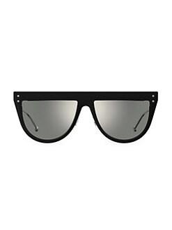 41e6a1cb96c0 QUICK VIEW. Fendi. 55MM FF Flat-Top Sunglasses