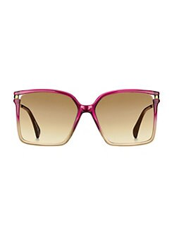 75a26850b09 57MM Square Sunglasses PINK. QUICK VIEW. Product image