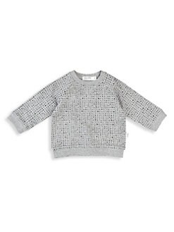 a4cb6344a Product image. QUICK VIEW. Miles Baby. Baby's & Little Kid's Miles Basic  Organic Cotton Stretch Sweatshirt