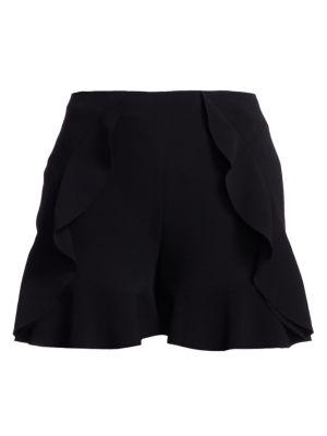 Cinq À Sept Shorts Saphir Ruffle Shorts