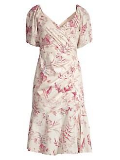 b3a6da13d5e Rebecca Taylor. Averie Floral Sheath Dress