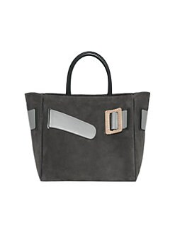 439f9a1f5e6 ... Leather Tote Bag SMOKE. QUICK VIEW. Product image