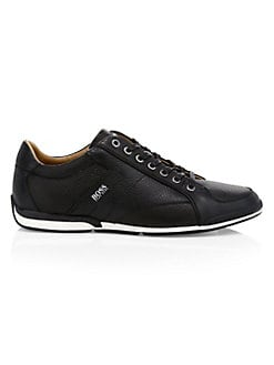 183e400c9cc Product image. QUICK VIEW. HUGO BOSS. Saturn Leather Sneakers